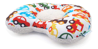 therapeutic organic flat head pillow
